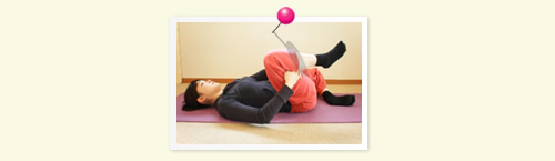 rotate hip joint